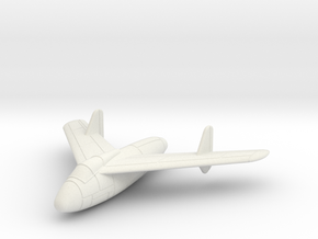 1/144 Junkers EF 128 (closed wheels) in White Strong & Flexible