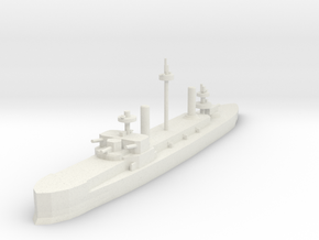 Hydra Class Ironclad 1:1800 x1 in White Strong & Flexible