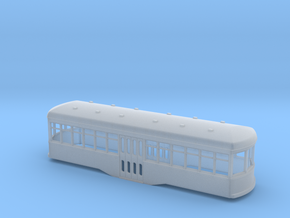 N scale Short trolley centre entrance  in Frosted Ultra Detail