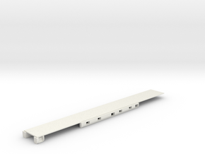 N Scale Rocky Mountaineer A Series Floor Updated in White Strong & Flexible