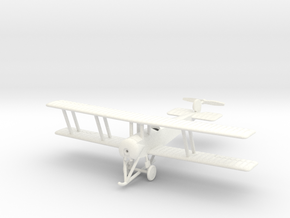 1/144 Avro 504A (single-seater) in White Strong & Flexible Polished