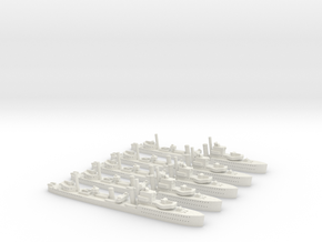 HMS Achates (A Class) 1/1800 x5 in White Strong & Flexible