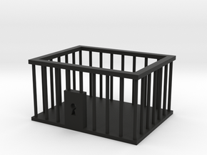 Business Card Jail Cell in Black Strong & Flexible