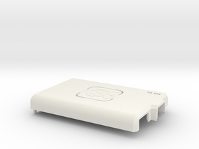 Raspberry Pi CASE 1.0 - TOP in White Strong & Flexible