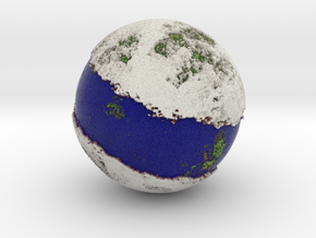 Planet 05 Blue in Full Color Sandstone