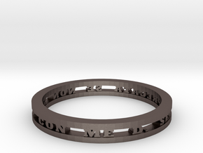 Ring in Stainless Steel