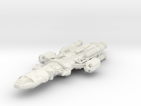 Owl SHADO patrol ship in White Strong & Flexible