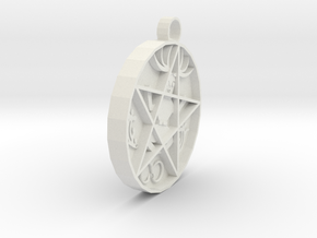 hex pendant agn in White Strong & Flexible