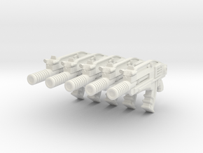 advanced gyrojet 001a suppressed with motion track in White Strong & Flexible