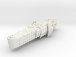 Assault cruiser in White Strong & Flexible
