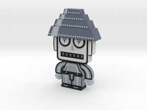DevoBot Series 1 B/W - no glasses in Full Color Sandstone