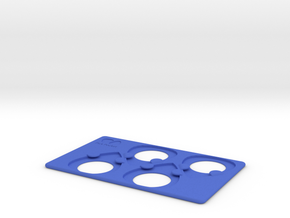 Pick Pocket in Blue Strong & Flexible Polished