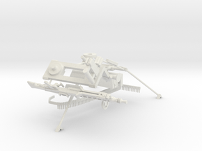 1:18 German MG42 with Lafette Tripod in White Strong & Flexible