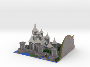 Castle Lividus of Aeritus 2 in Full Color Sandstone