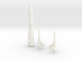 Sunlink - BC12 Metalbirdie v2 Rifle + Wings Set in White Strong & Flexible Polished