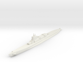 Bywater's Nagasaki Cruiser Submarine 1:1800 x1 in White Strong & Flexible