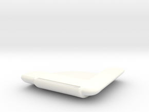 SoundScoop in White Strong & Flexible Polished
