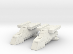 2x DX9 Stormtrooper Transport in White Strong & Flexible