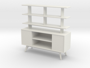 1:24 Moderne Room Divider in White Strong & Flexible