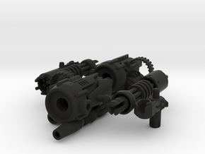 D.R.E.A.D Suppressor miniguns in Black Strong & Flexible