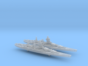 1/3000 MN BC Dunkerque[1940] + Strasbourg[1942] in Frosted Ultra Detail