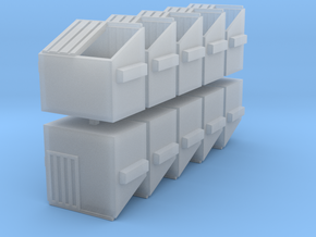 Dumpster - set of 10 - Nscale in Frosted Ultra Detail