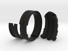 Vambrace Ring 10.5 in Black Strong & Flexible