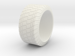 Tire Ring in White Strong & Flexible