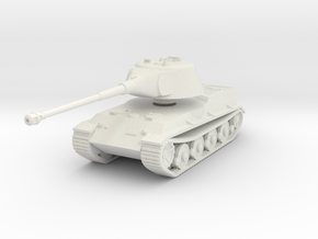 Vehicle- Löwe Tank (1/87th) in White Strong & Flexible