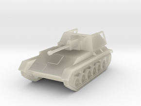 Vehicle- SU-76M Self-Propelled Gun (1/87th) in Transparent Acrylic