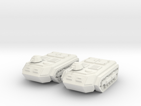 15mm Sphinx APC (x2) in White Strong & Flexible