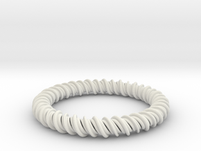 GW3Dfeatures Bracelet A2 in White Strong & Flexible
