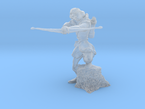 Archer 28mm No Base in Frosted Ultra Detail
