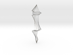 Spiral Silver Wire Earings in Premium Silver