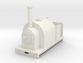Gn15 Saddle tank open cab in White Strong & Flexible