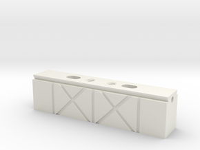 Circuit Board Magnetic Mount Rail Vise in White Strong & Flexible