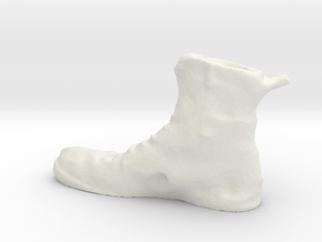 Boot in White Strong & Flexible