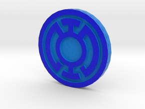Lantern Corps Chip/Coin in Full Color Sandstone