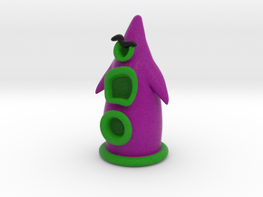Day of the Tentacle - Purple 5cm in Full Color Sandstone