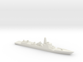 Type 052D 1/3000 in White Strong & Flexible