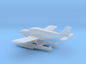 1:400 Piper PA28 Cherokee Floatplane in Frosted Ultra Detail