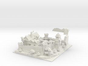 Tale Of Kingdoms  Guild Castle in White Strong & Flexible