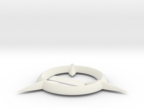 Little Witch Academia - Hat Broach in White Strong & Flexible