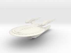 Waren Class Science Vessel in White Strong & Flexible