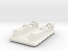 Hovercraft 1:700 in White Strong & Flexible