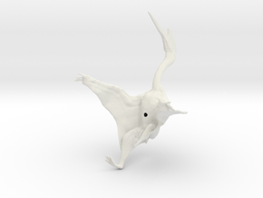 Quetzalcoatlus 1:40 scale model in White Strong & Flexible