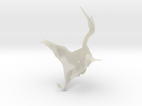 Quetzalcoatlus 1:72 scale model in Transparent Acrylic