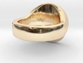 Scales of Justice Signet Ring in 14K Gold
