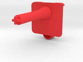 (X1) Pitch Control Lever in Red Strong & Flexible Polished