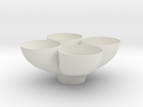 PT Bowl (4pcs) in White Strong & Flexible